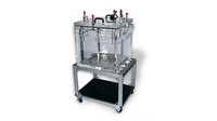LVC202020-1123-CC Shown with optional cart for Package Testing System