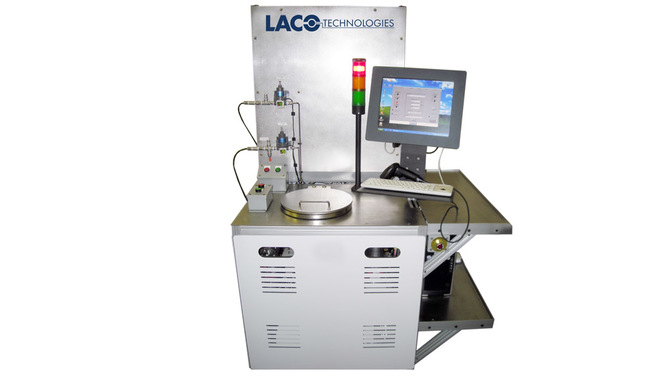 RGA Hard Vacuum Leak Test System for Missile Steering System Components