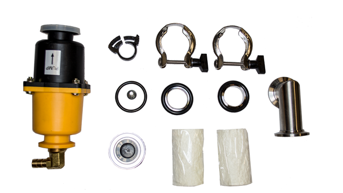 Alcatel Oil Mist Filter Kit—ASM 142 Leak Detector