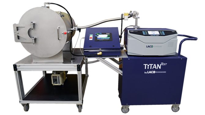 TITANTEST HELIUM CHARGE SYSTEM FOR FUEL TANK LEAK TESTING