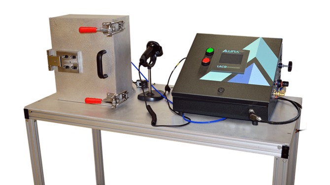 Vacuum Decay Leak Test System for Aircraft Engine Control Modules