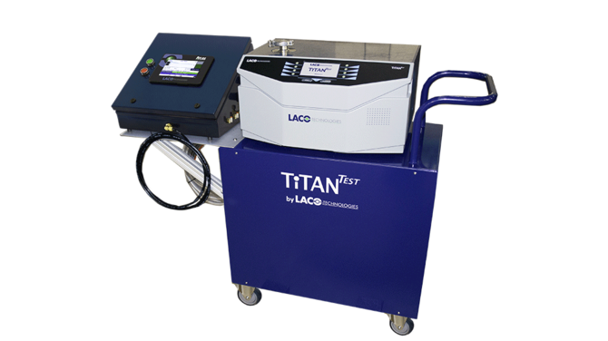 TITANTEST Leak test system for underwater seismic nodes