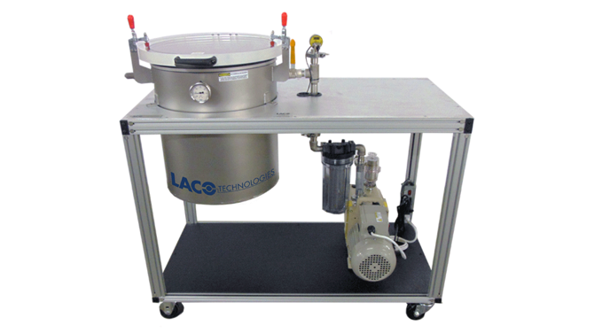 Cart Vacuum Degassing System for Epoxy