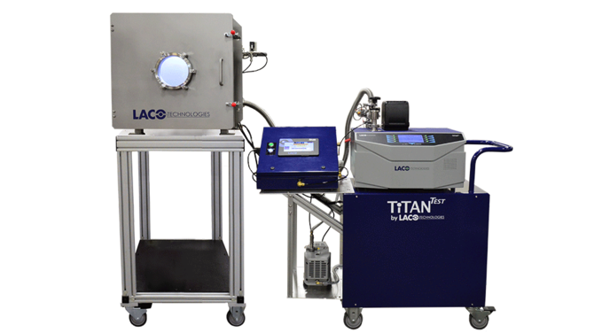 TITANTEST Leak Test System for Nanosatellite Components
