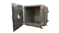 "20"" X 20"" X 20 Cube Chamber for TITANTEST Leak Test System for Nanosatellite Components"