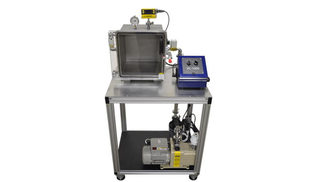 Custom cart degassing system