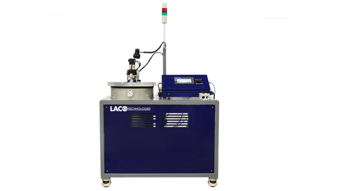 Automated cart vacuum degassing system with lid lift